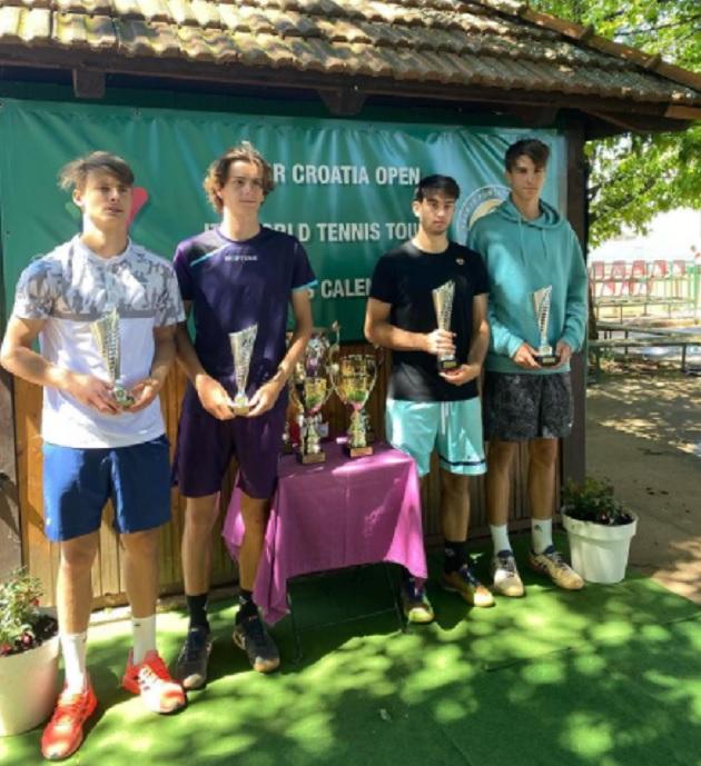dvojice finale cakov - ITF: Dominko in Emeršič Potočnik zmagovalca turnirja dvojic v Čakovcu!