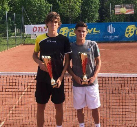 neptune - Odlični Artnak z Belgijcem osvojil ITF J2 turnir v Avstriji!