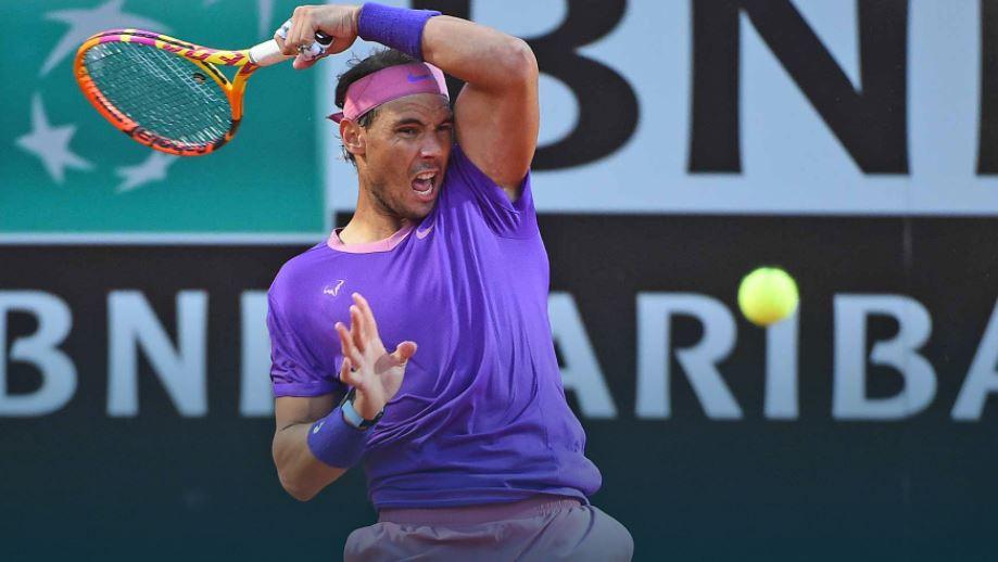 rafa - Nadal odbil napad #NextGenATP generacije; Španec v dveh nizih izločil Italijana