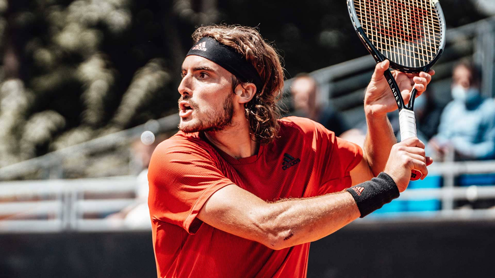 tsitsipas lyon 2021 saturday4 - ATP Lyon: V finalu se bosta jutri pomerila Tsitsipas in Norrie