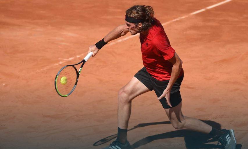 tsitsipas - ATP Rim: Hrvat Marin Čilić dobil le sedem iger proti Tsitsipasu