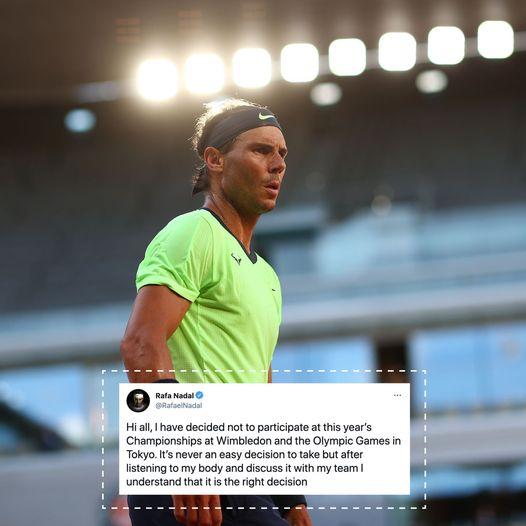 201023467 10159829407914175 4859638324235568859 n - Nadal odpovedal Wimbledon in OI v Tokiu