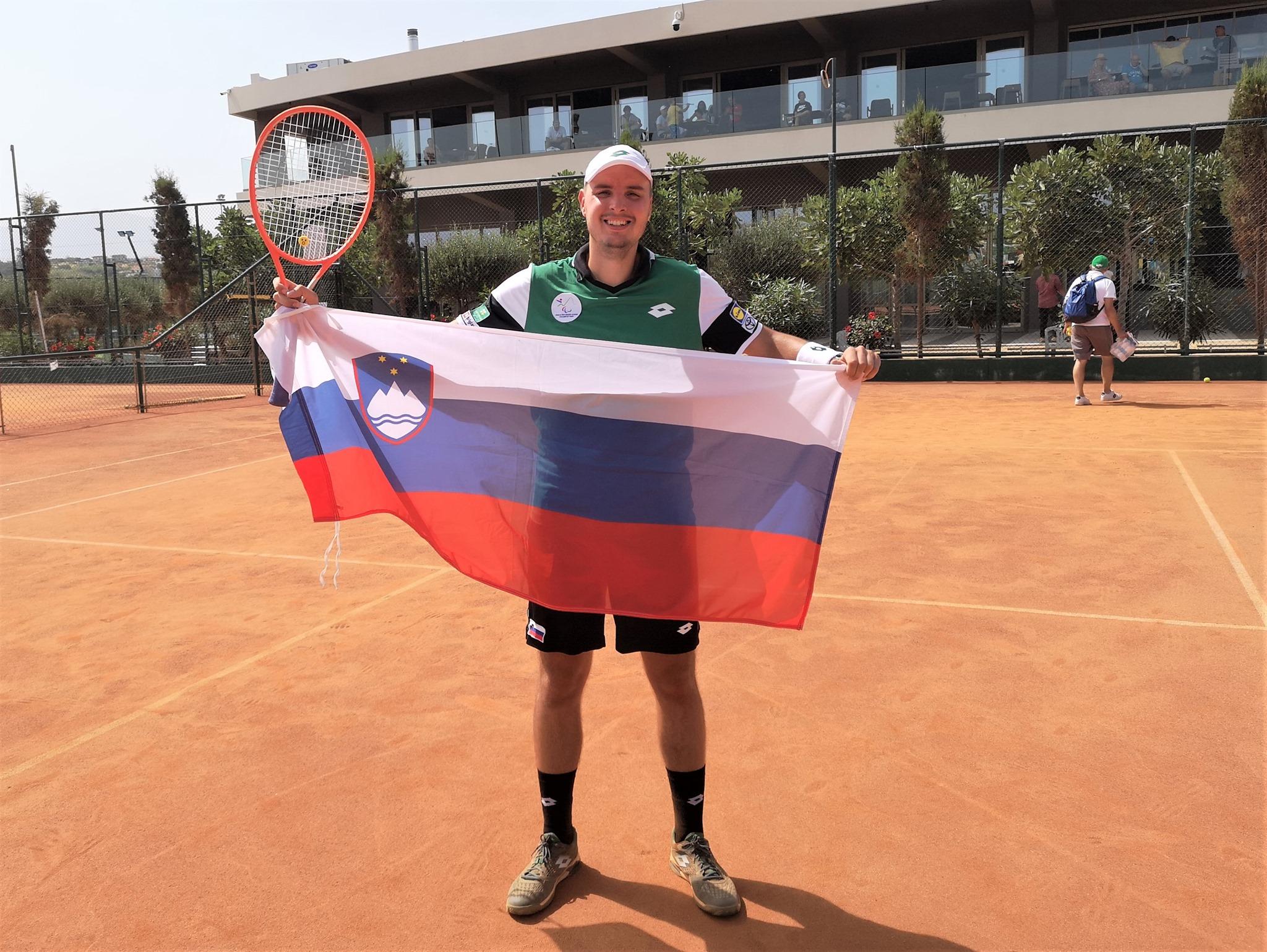 """204767475 460585484982423 1260217621573031439 n - Marino Kegl: """"Z igrami in uvrstitvijo na olimpijskih igrah se ne obremenjujem, pomembno je le, da bom igral svoj najboljši tenis"""""""