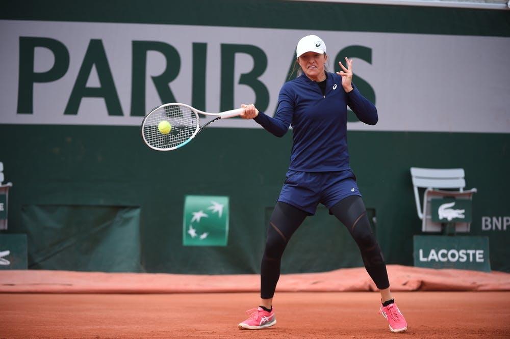 2e160579 a706 4f59 8243 70bc8299df76 20210526 RG CD 9455 web - Roland Garros: Za četrtfinale se bo pomerila z dve leti mlajšo Ukrajinko