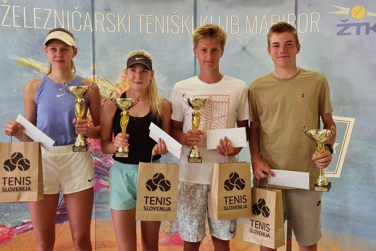 3t4t4 - DP U18: Manca Lampret in Marsel Žnuderl izjemen teden kronala z naslovom državnega prvaka (FOTO)