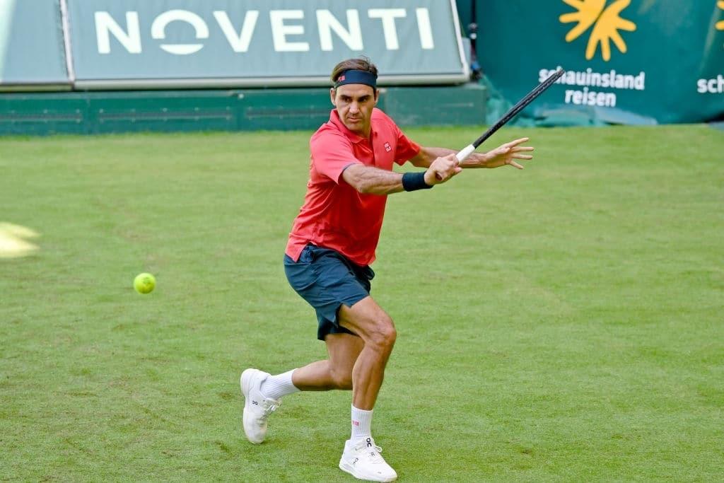 987 - Za Federerja ekspresen konec v Halleju