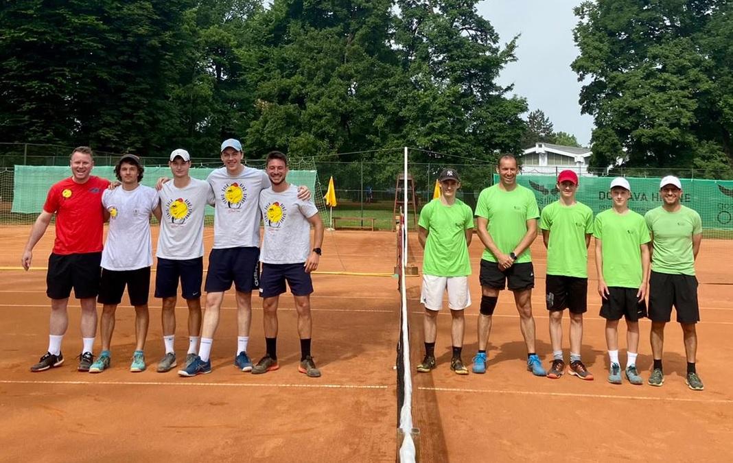 Benc Sporn - 2. moška liga: TK Benč Sport v dveh dneh do dveh zmag, Novogoričani znova prepričljivi (FOTO)