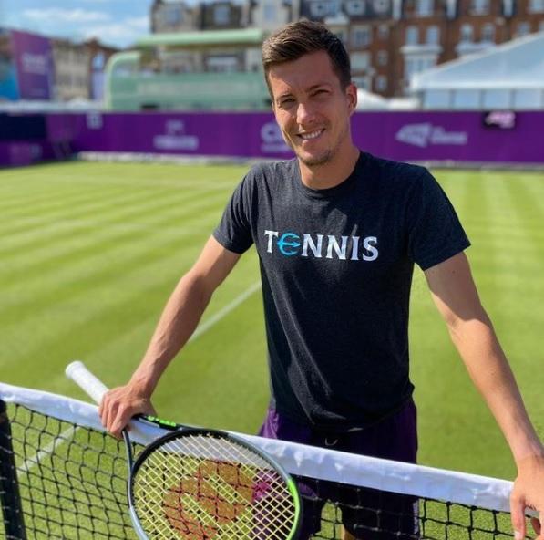 Benko trava 2021 - Bedene pred Wimbledonom brez zmage na travnati podlagi