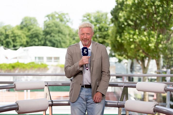 Boris BECKER 001 1 - Boris Becker ponudil predogled polfinala