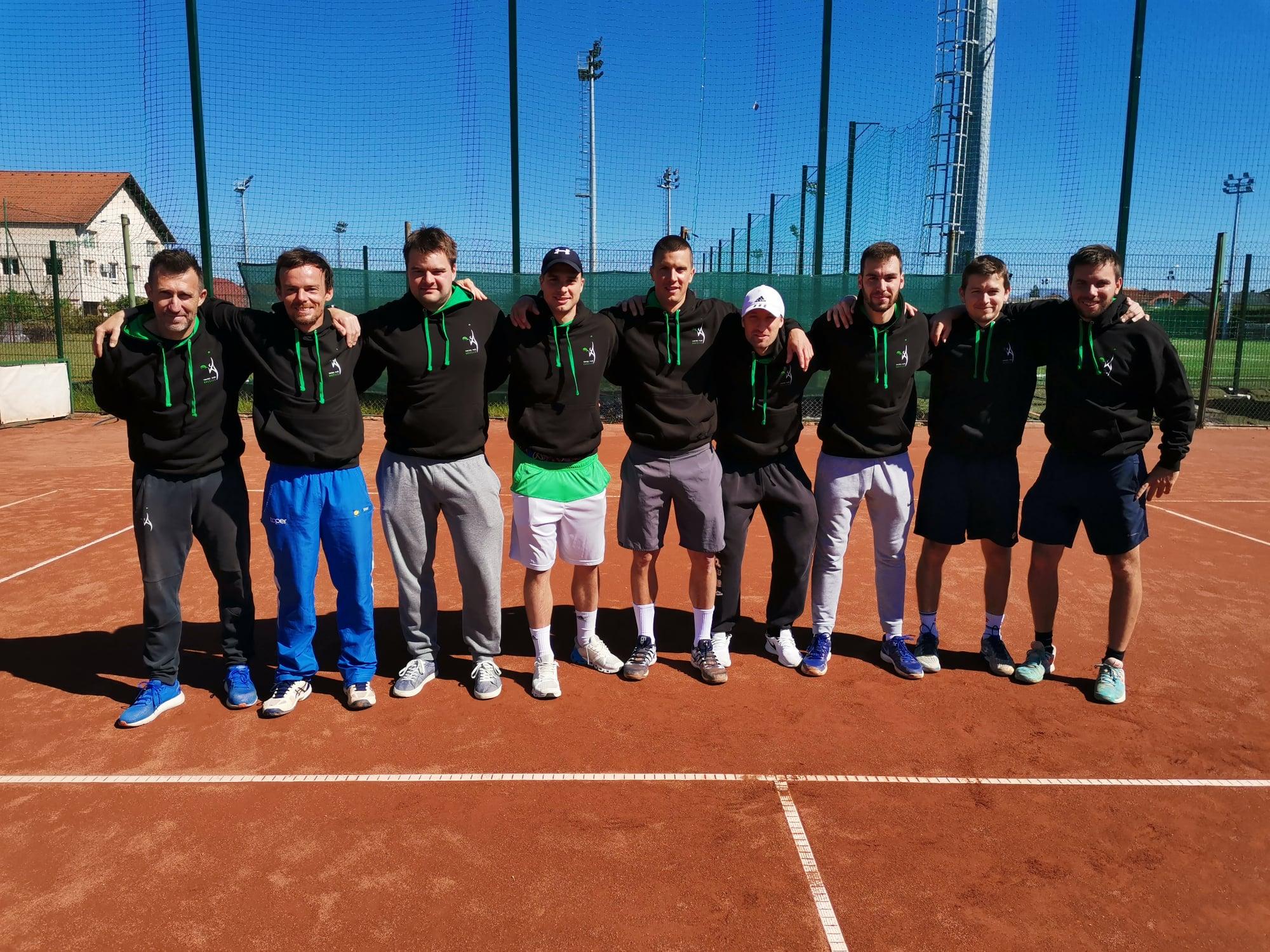 Brezice - 2. moška liga: Brežičani in TK Goja tenis prva udeleženca playoffa, dobro kaže še Novogoričanom in Koprčanom