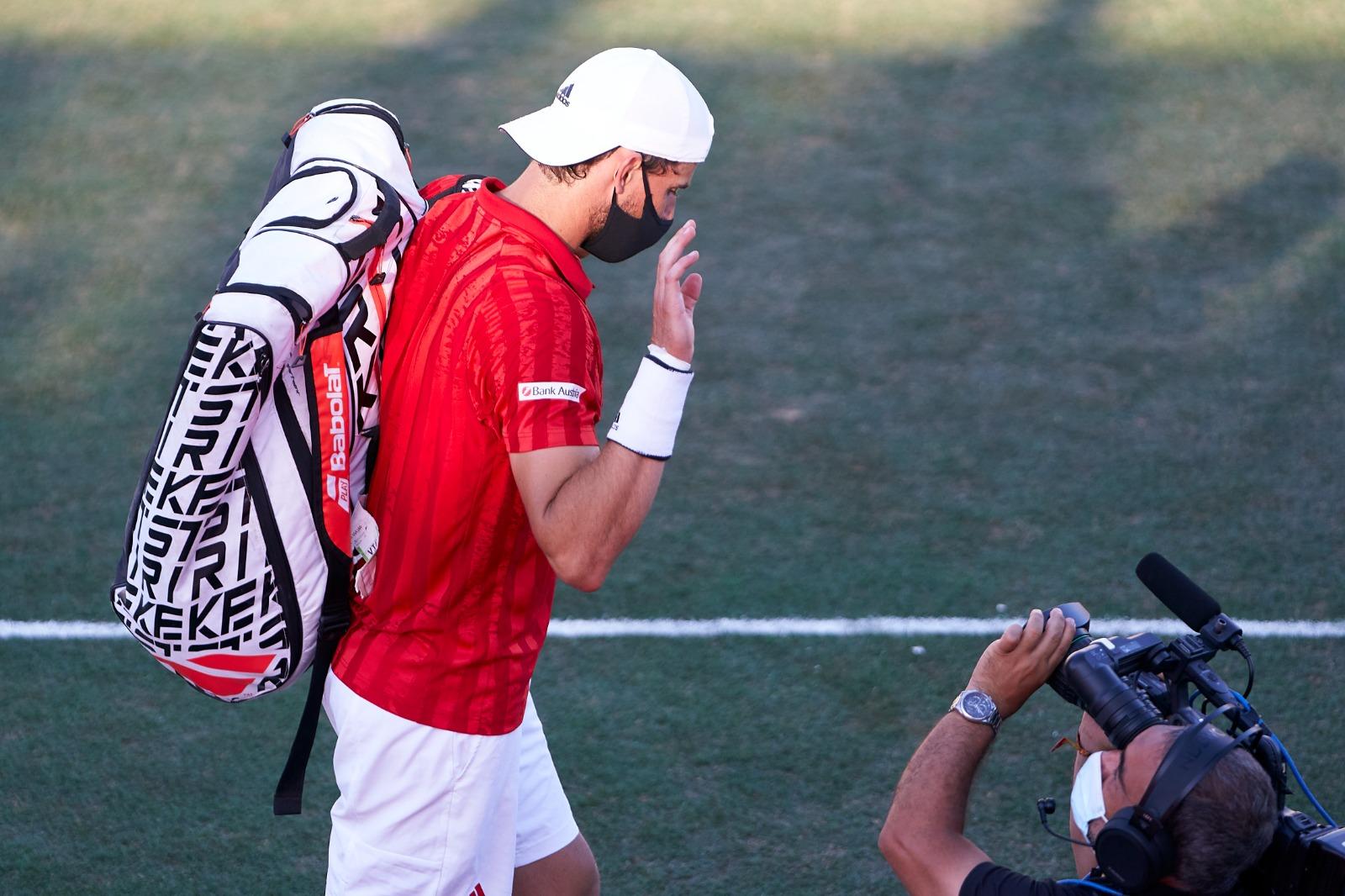 E4gS5BrXIAESLZx - Thiem zaradi poškodbe izpušča Wimbledon