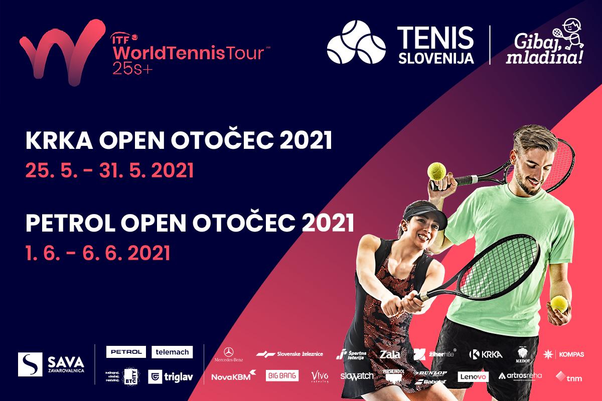 TS WTT - Poročilo o izvedenih turnirjih Krka Open Otočec 2021 in Petrol Open Otočec 2021