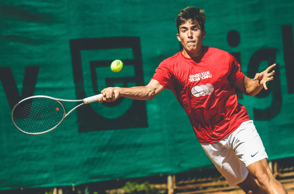 Tenis liga Kranj 0117 210627 VID - ITF: Dimic v Avstriji prestal vse tri kvalifikacijske preizkuse, uspešna tudi Erjavčeva