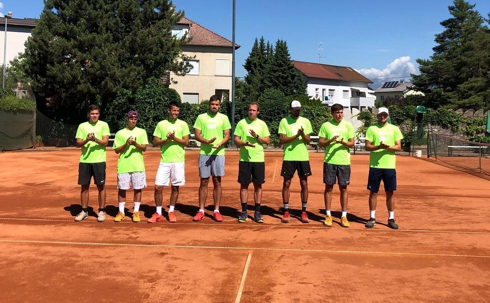 Triglav 1 - 1. moška liga: TK Triglav Kranj tudi z zmago selektorja v finale; za naslov znova proti Ptujčanom