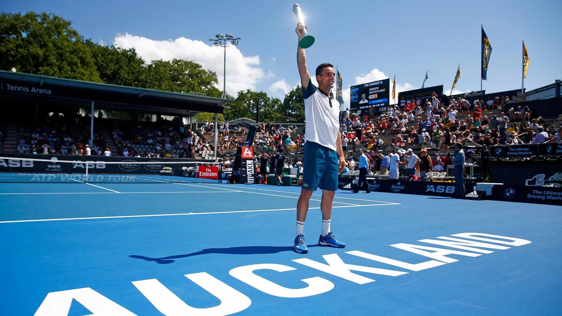 bautista agut auckland 2016 final - V Aucklandu že odpovedali teniški turnir z letnico 2022