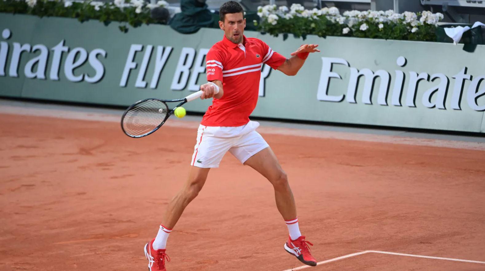 djokovic - Roland Garros: Đoković brez težav do osmine finala