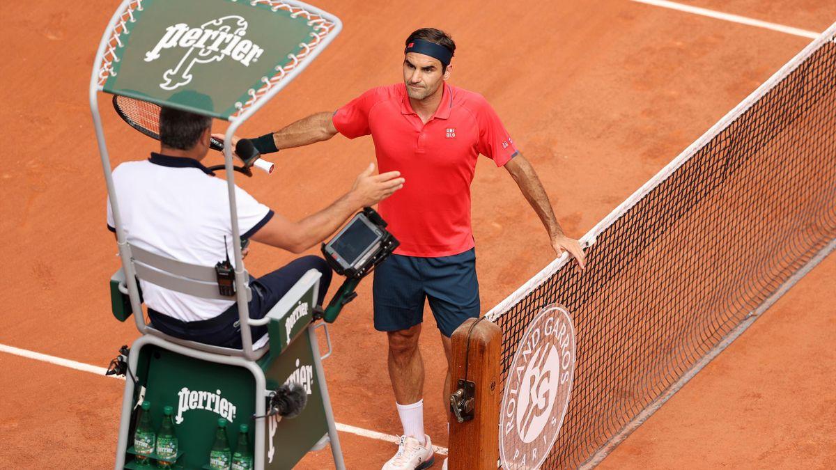 foto eurosport - Zakaj se je kregal Roger?