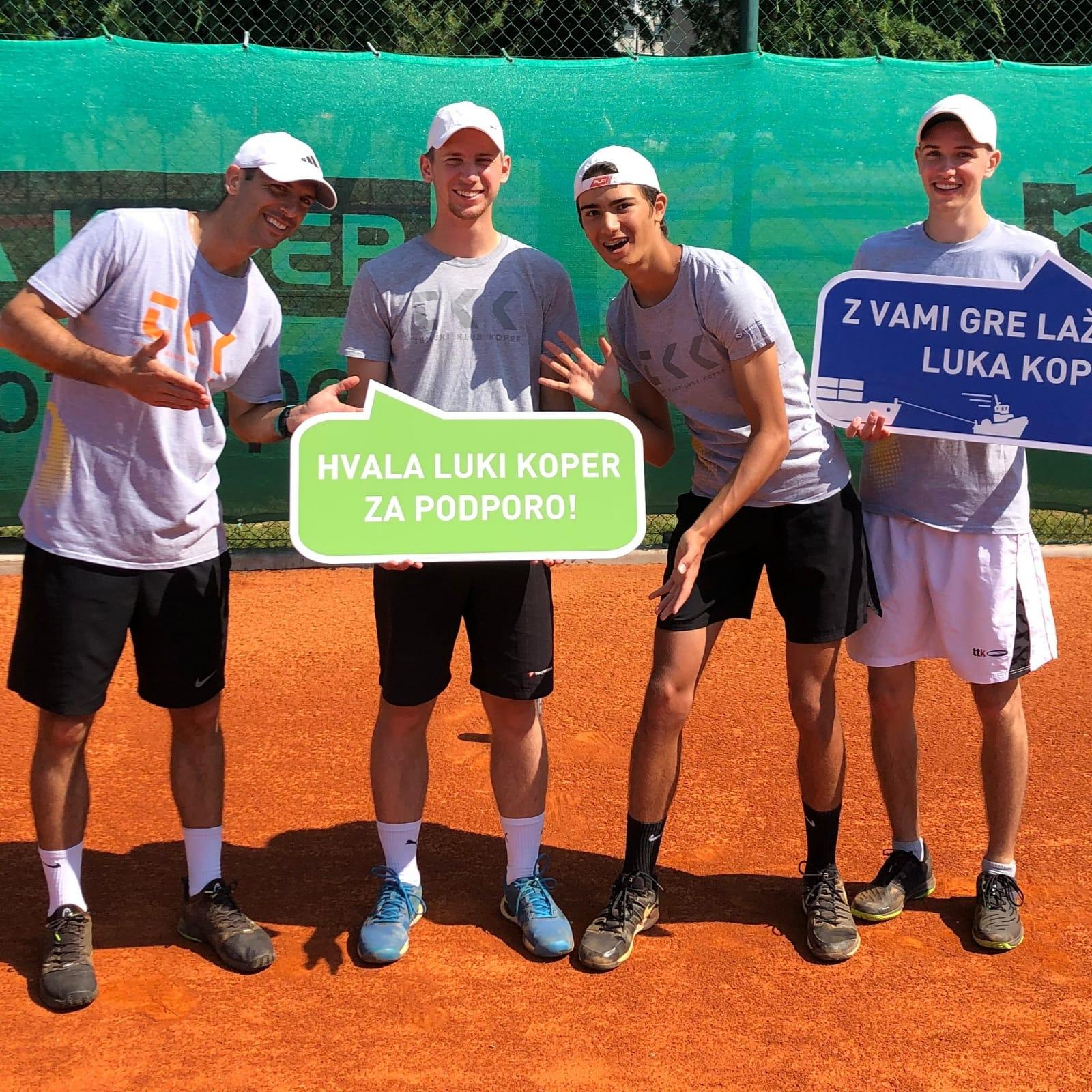koper - 2. moška liga: Novogoričani še naprej neporaženi, do dveh zmag tudi TK Goja tenis