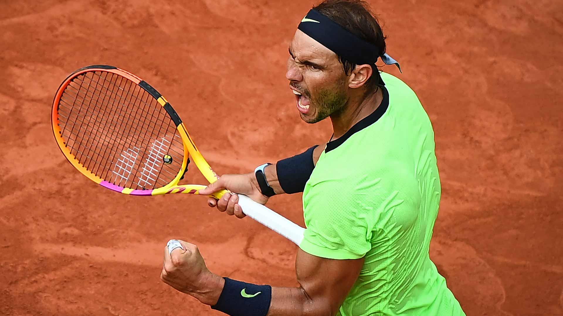 nadal roland garros 2021 saturday - Strašljiva statistika: Nadal dobil še 35. niz zapored