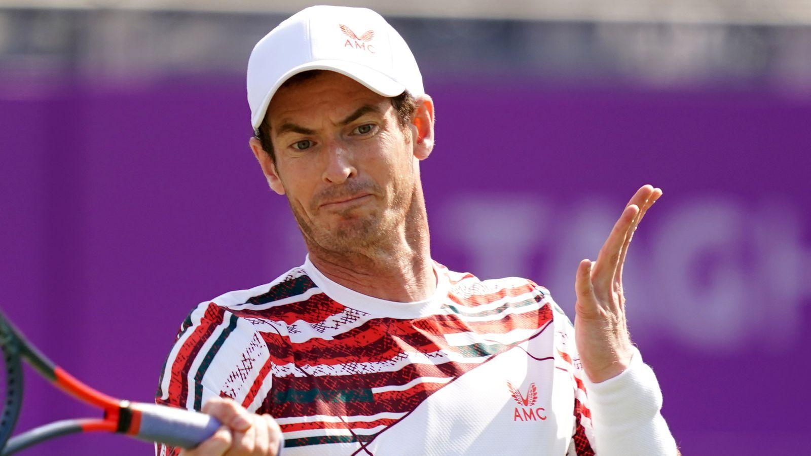 skysports andy murray tennis 5416054 - Andy Murray čez prvo oviro v Wimbledonu