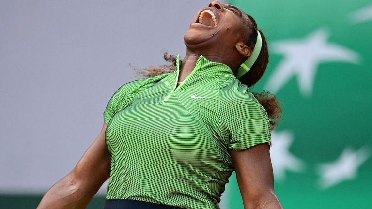 skysports serena williams tennis 5403333 - V tretji krog se je z manjšimi težavami prebila tudi Serena Williams