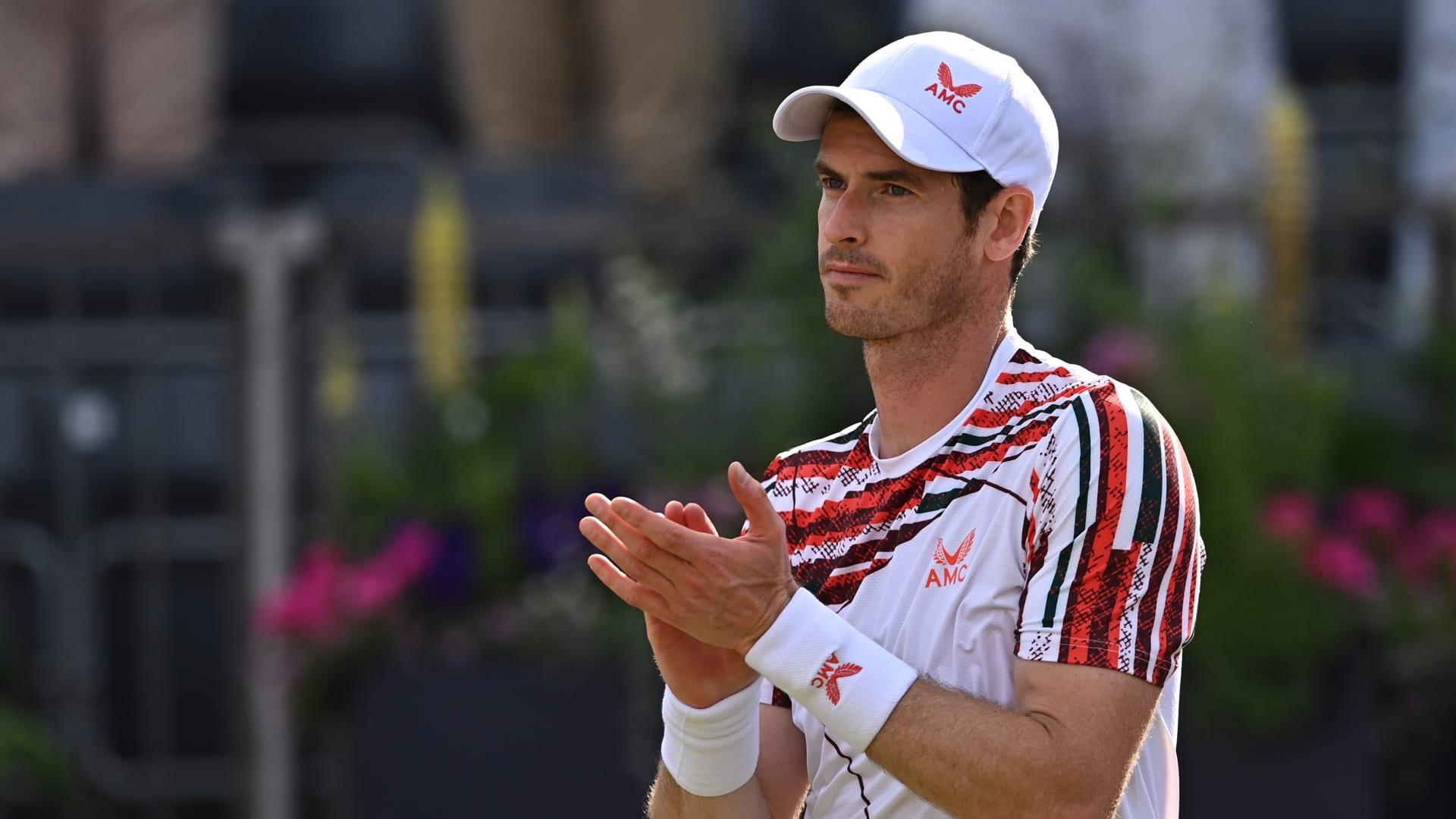 vjhx4qrtseuwnuuspalx - Murray ni mogel skriti čustev po prvi zmagi na travnati podlagi v treh letih