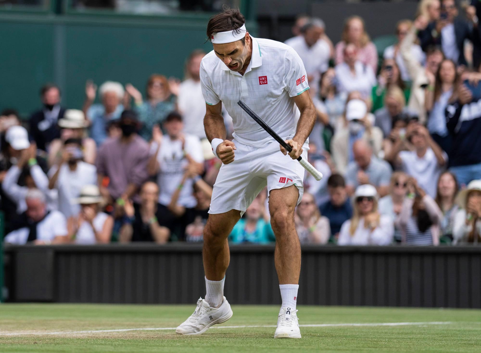 212751044 10158522155098732 1497902239336812045 n - Federer z zagotovljeno vstopnico za drugi teden Wimbledona