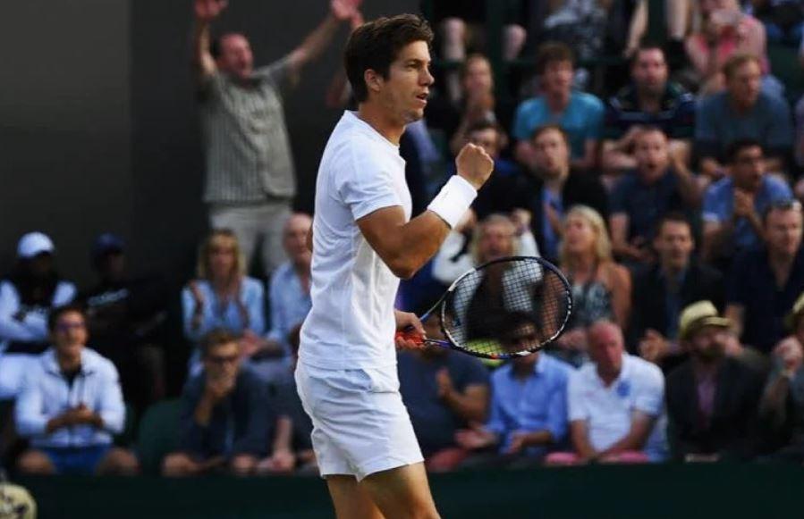 Bedene1 - Bedene v Wimbledonu prepričljiv kot še nikoli - Japoncu oddal le tri igre