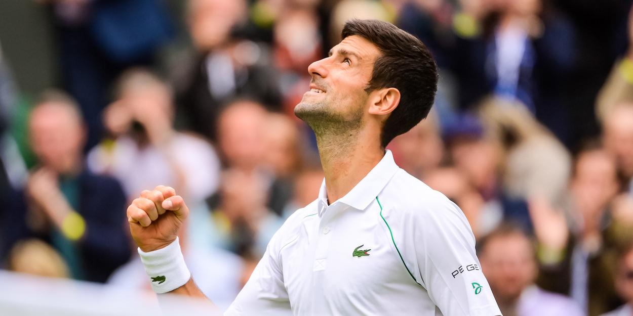 DJOKOVIC WIMBLEDON 30062021 1197 1 1 - Đoković eno zmago stran od izenačitve Federerja in Nadala