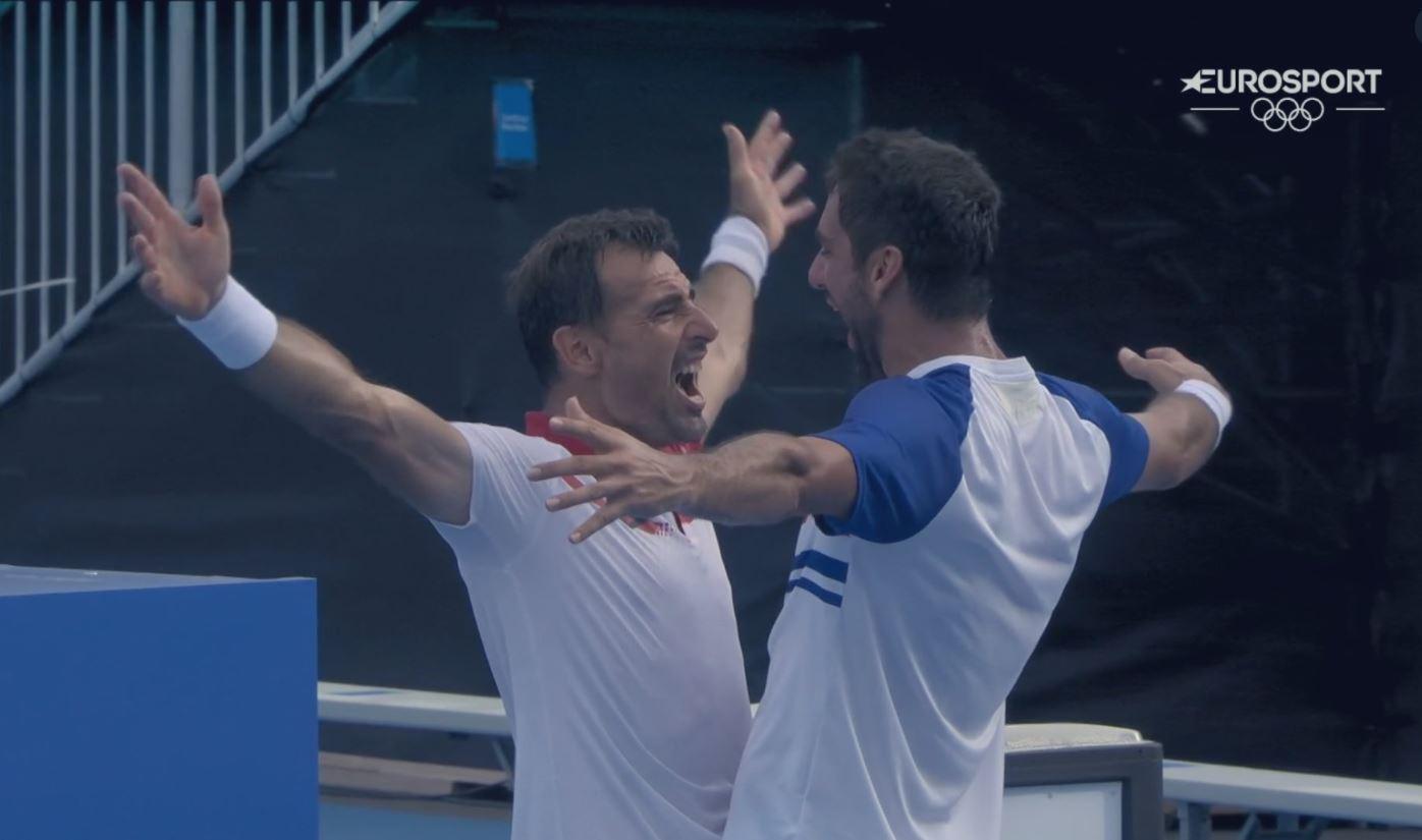 Euro1 - Piše se zgodovina hrvaškega tenisa: Našim južnim sosedom zlata in srebrna medalja!