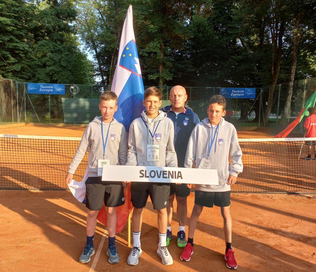 Fantje 1024x883 - Slovenski reprezentanci U12 opozorili nase na evropskem prvenstvu v Karlovcu