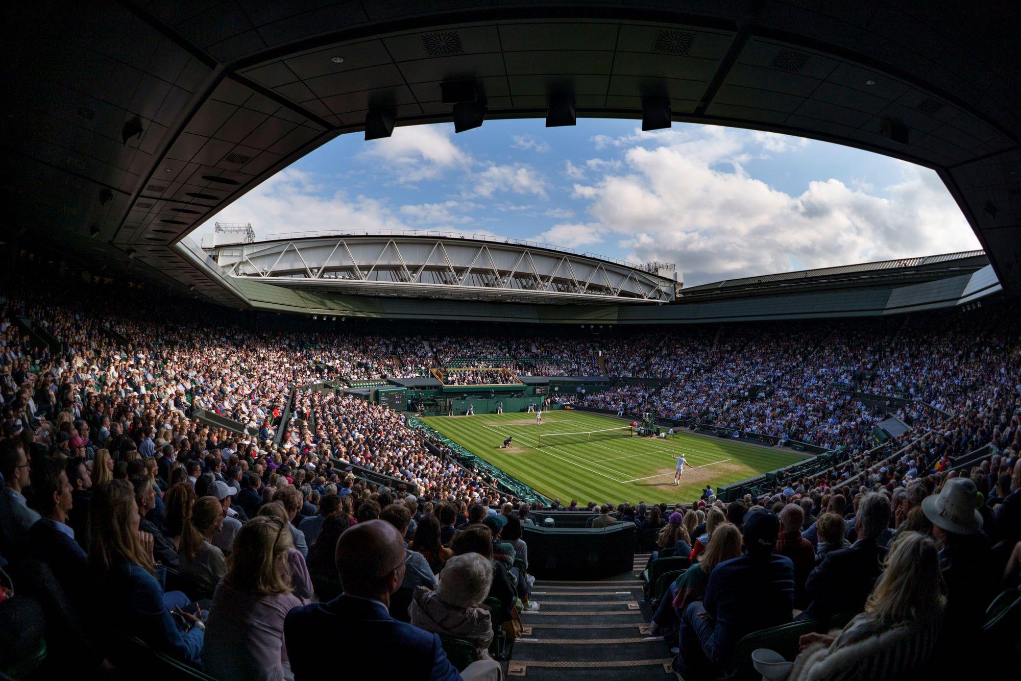 Foto Wimbledon Facebook 4 3 - Danes se bo tako ali drugače pisala teniška zgodovina, v finalu pa bo sodila Hrvatica