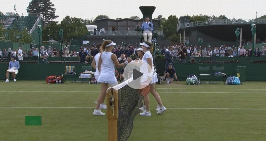 Tami1 - Tudi Zidanškova v Wimbledonu do prve zmage, poraz Klepačeve