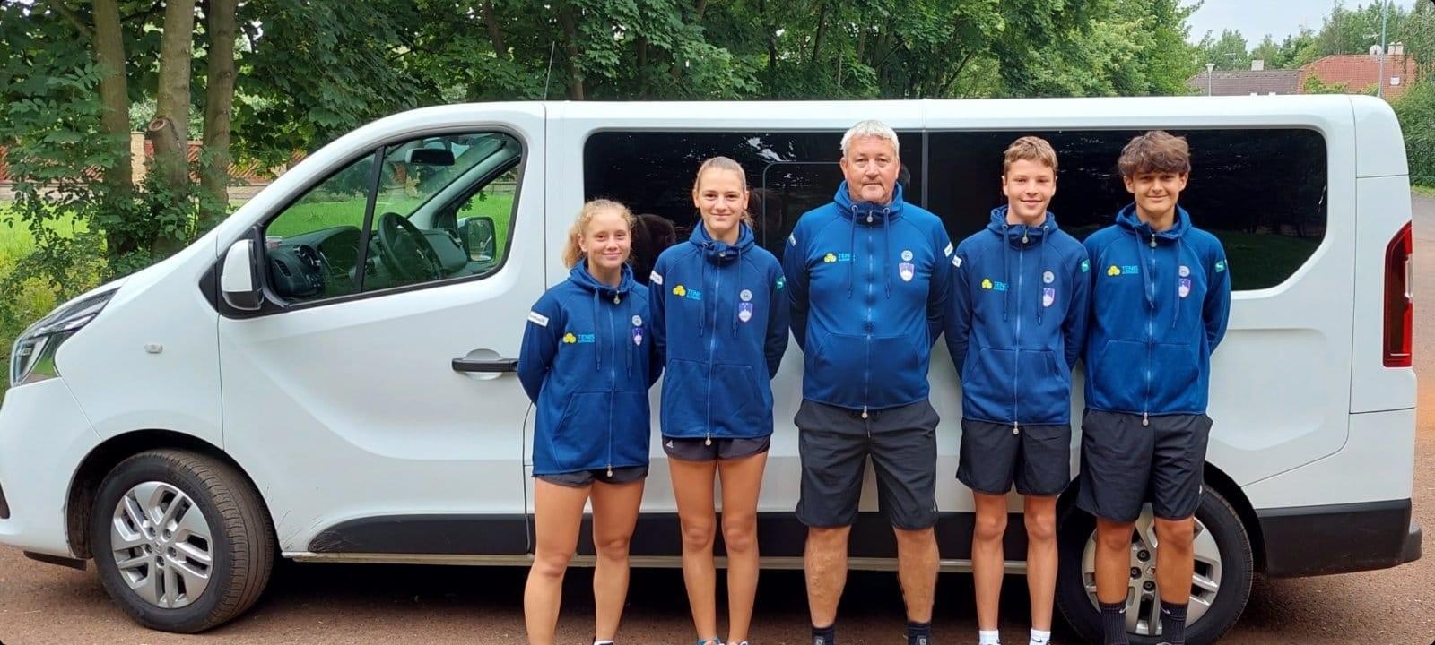 U14 - EP U14: Slovenski dvojici na Češkem v lov za četrtfinalno vstopnico (FOTO)