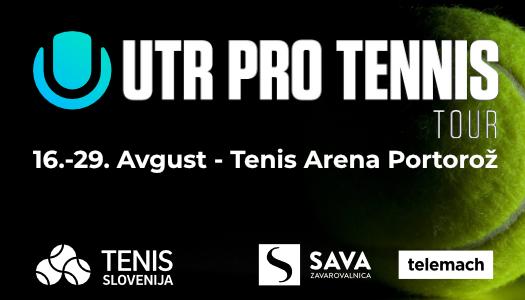 UTR Pro Tennis Tour Banner 525x300 1 - Vabilo tekmovalcem/-kam na Universal Tennis Pro turnirje v Portorožu!