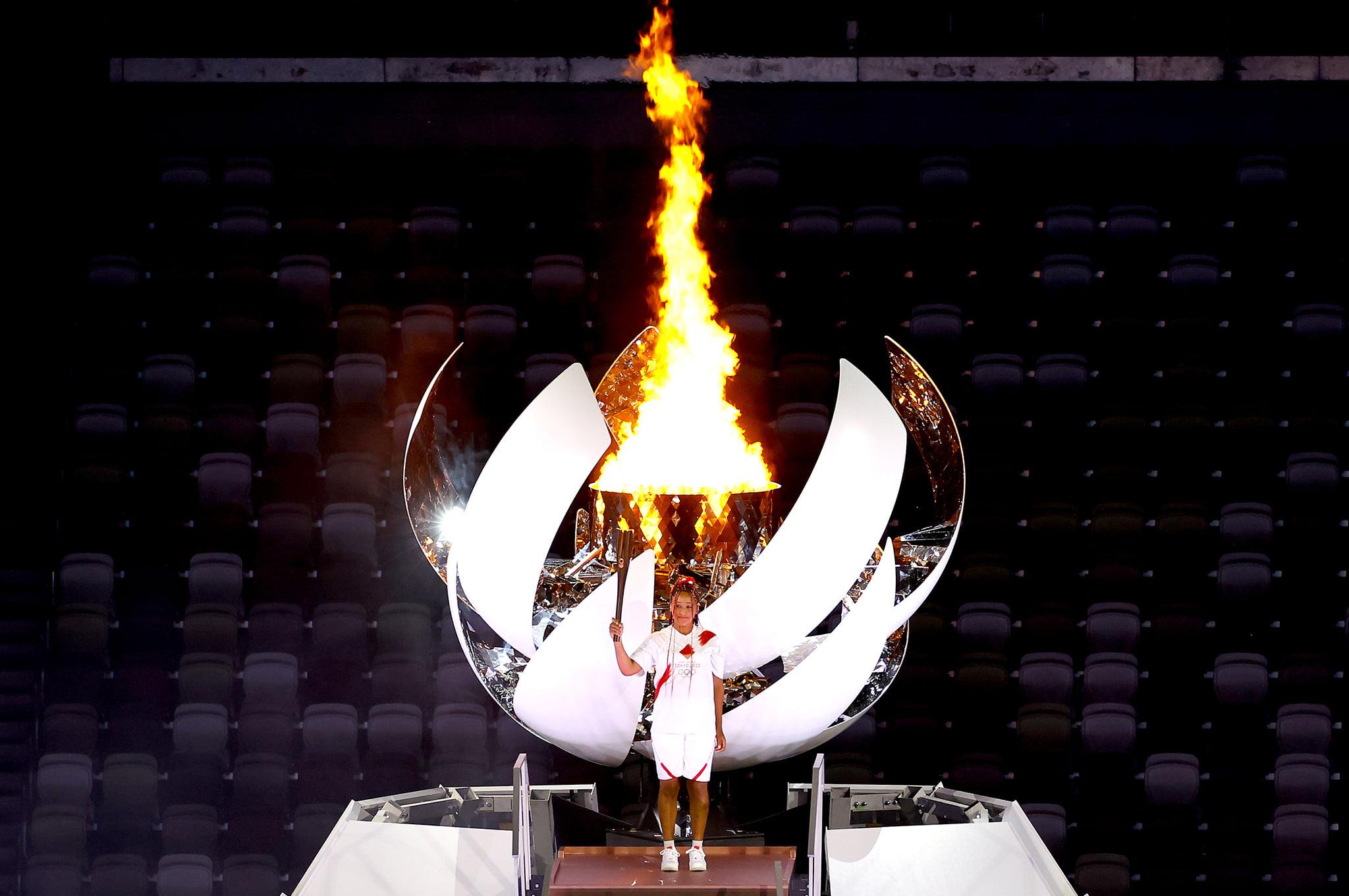foto US Open Facebook 1 - Naomi Osaka postala prva tenisačica v zgodovini, ki je prižgala olimpijski ogenj