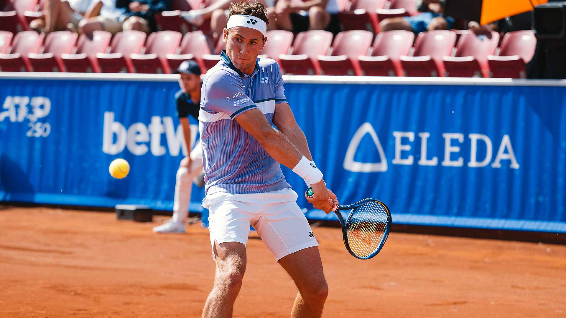 ruud bastad 2021 saturday - ATP Bastad: Norvežan v boju za naslov v dveh nizih boljši od Argentinca