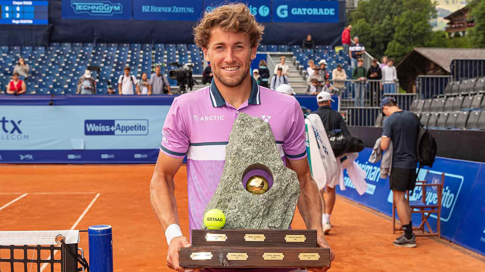 ruud gstaad final 2021 sunday - ATP Gstaad: Ruud do tretjega naslova letos