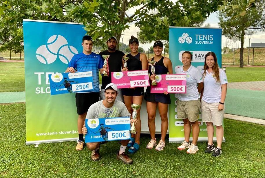 vsi - Ela Nala Milić zmagovalka sestrskega finala članskega turnirja v Kopru, pri članih najboljši Tomac (FOTO)