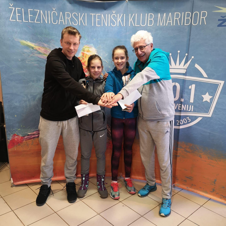 Alja senica - TE: Alja Senica četrtfinalistka v Budimpešti, v Pragi uspešen začetek Ele Plošnik