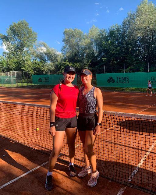 BrinaLara - ITF Radomlje: Pia Marija Rebec izjemnega tedna ni uspela kronati z naslovom