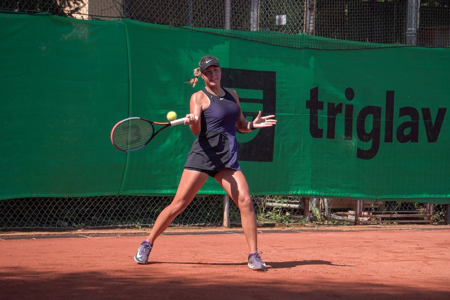Ela Nala Triglav - ITF: Ela Nala Milić in Pia Lovrič po izjemnem tednu zaustavljeni na zadnji stopnički