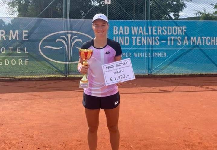 Falki - ITF: Živa Falkner druga najboljša v Bad Waltersdorfu, Škorjanc in Miković po Kranju osvojila še Domžale
