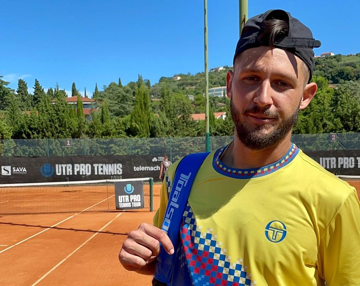 Gostincar - V Portorožu končan še drugi mednarodni UTR Pro turnir; naslov Ukrajincu, Emeršič Potočnik najboljši Slovenec