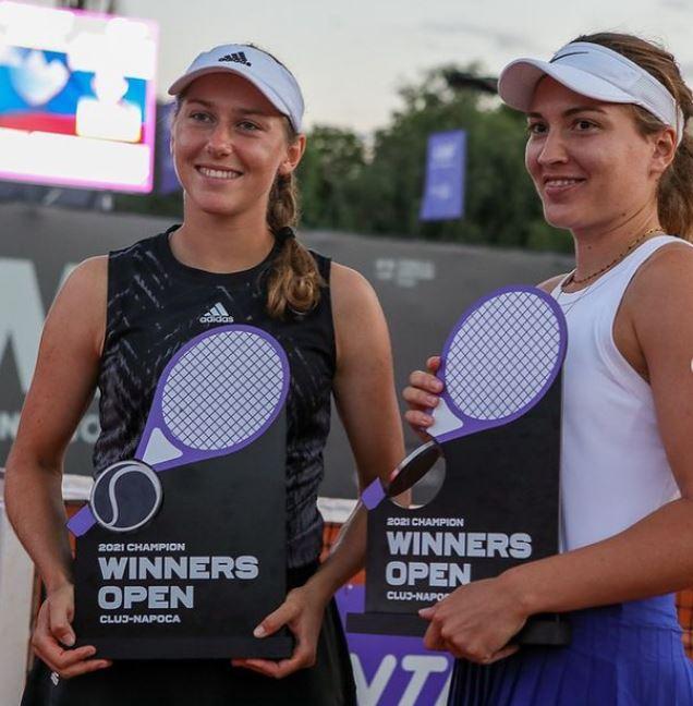 Hzv1 - Kaja Juvan v Romuniji do svojega prvega WTA naslova v dvojicah!