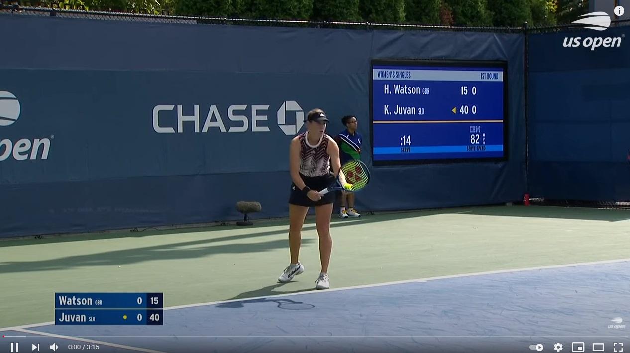 Juvan1 1 - VIDEO: Vrhunci dvoboja med Heather Watson in Kajo Juvan
