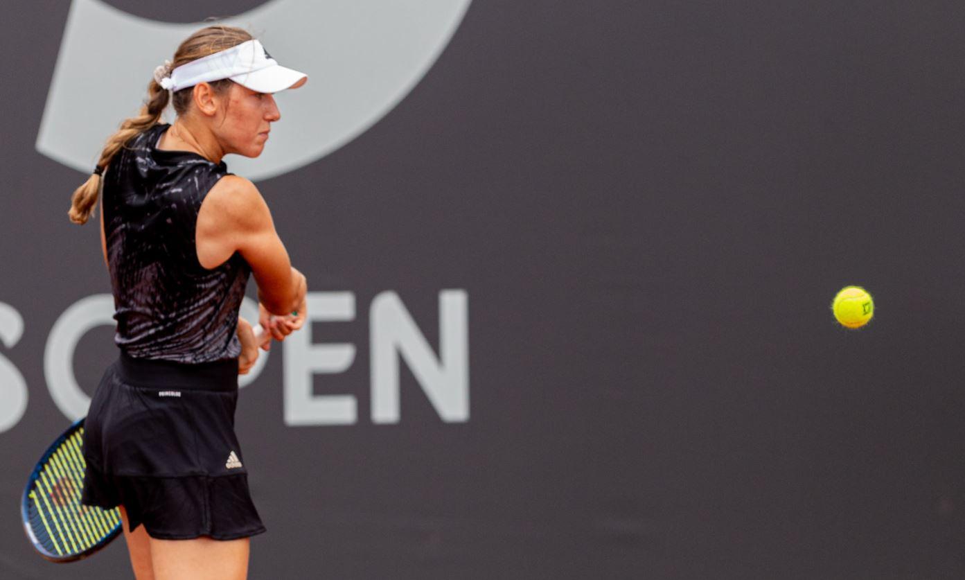 Juvan1 - Kaja Juvan z Rusinjo še korak do WTA naslova v Romuniji