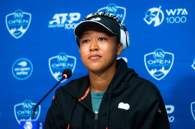"""Naomi Osaka   2021 Western Southern Open Day 3  Z66 8257 original - Osaka: """"Povedala bi, da so trenutki, ko sem na novinarski konferenci, zame najtežji"""""""