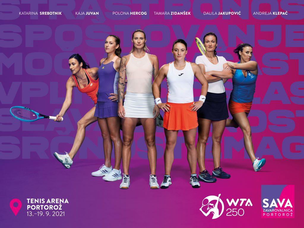 """Slovenke 1 1024x768 - Kaja Juvan: """"Turnir v Portorožu je zelo pomemben za slovenski tenis."""""""