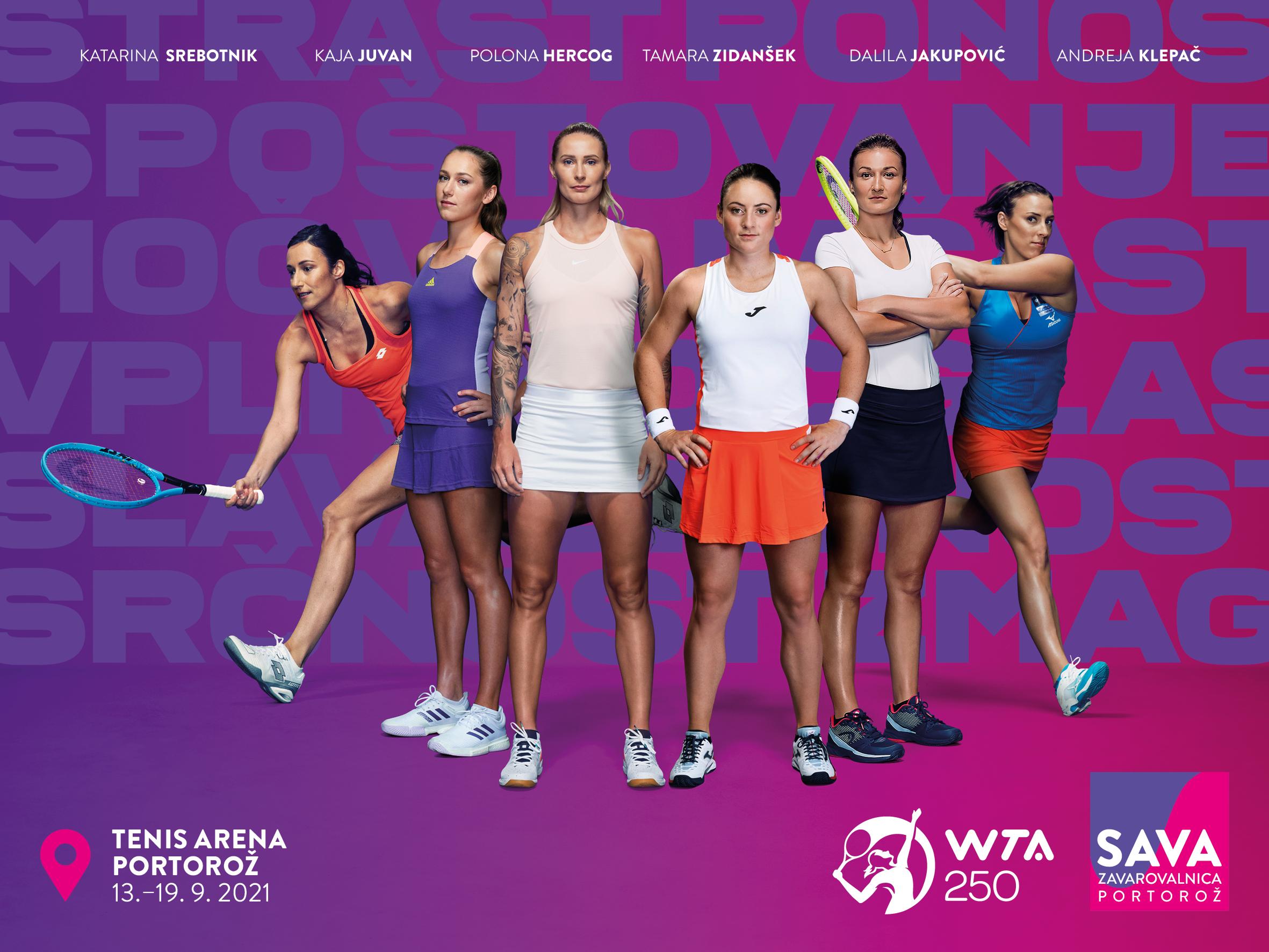 Slovenke - Še 28 dni do začetka turnirja WTA v Portorožu